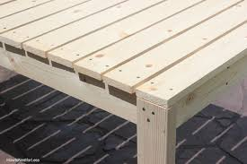 Build Your Own Outdoor Patio Table by How To Build A Patio Dining Table How To Nest For Less