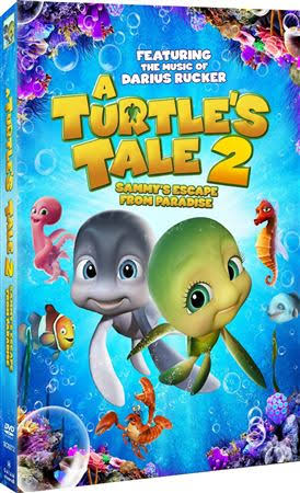 A Turtles Tale 2: Sammys Escape From Paradise DVD