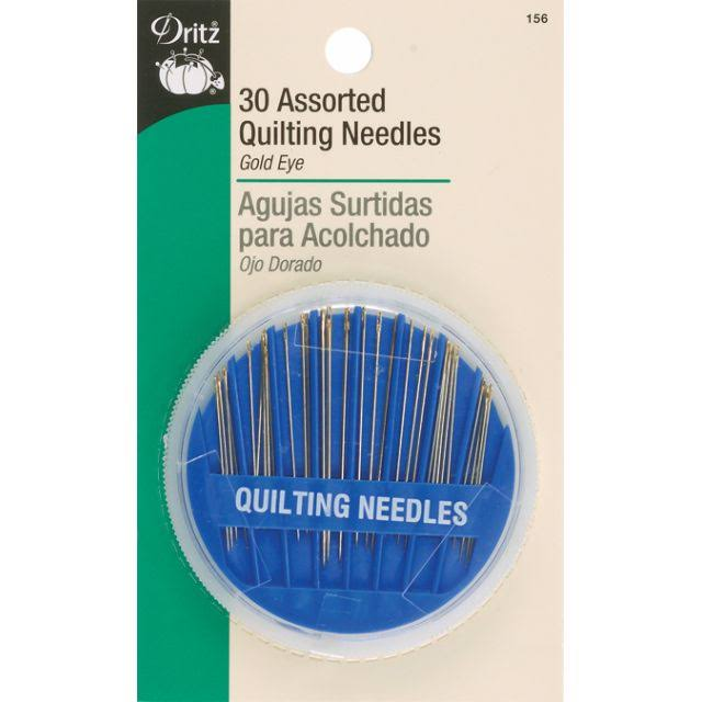 Dritz Quilting Needles Assorted - 30pc