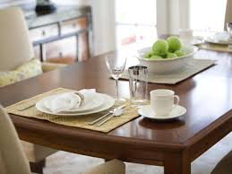 Dining Table Centerpiece Ideas For Everyday by How To Refinish A Dining Room Table Hgtv