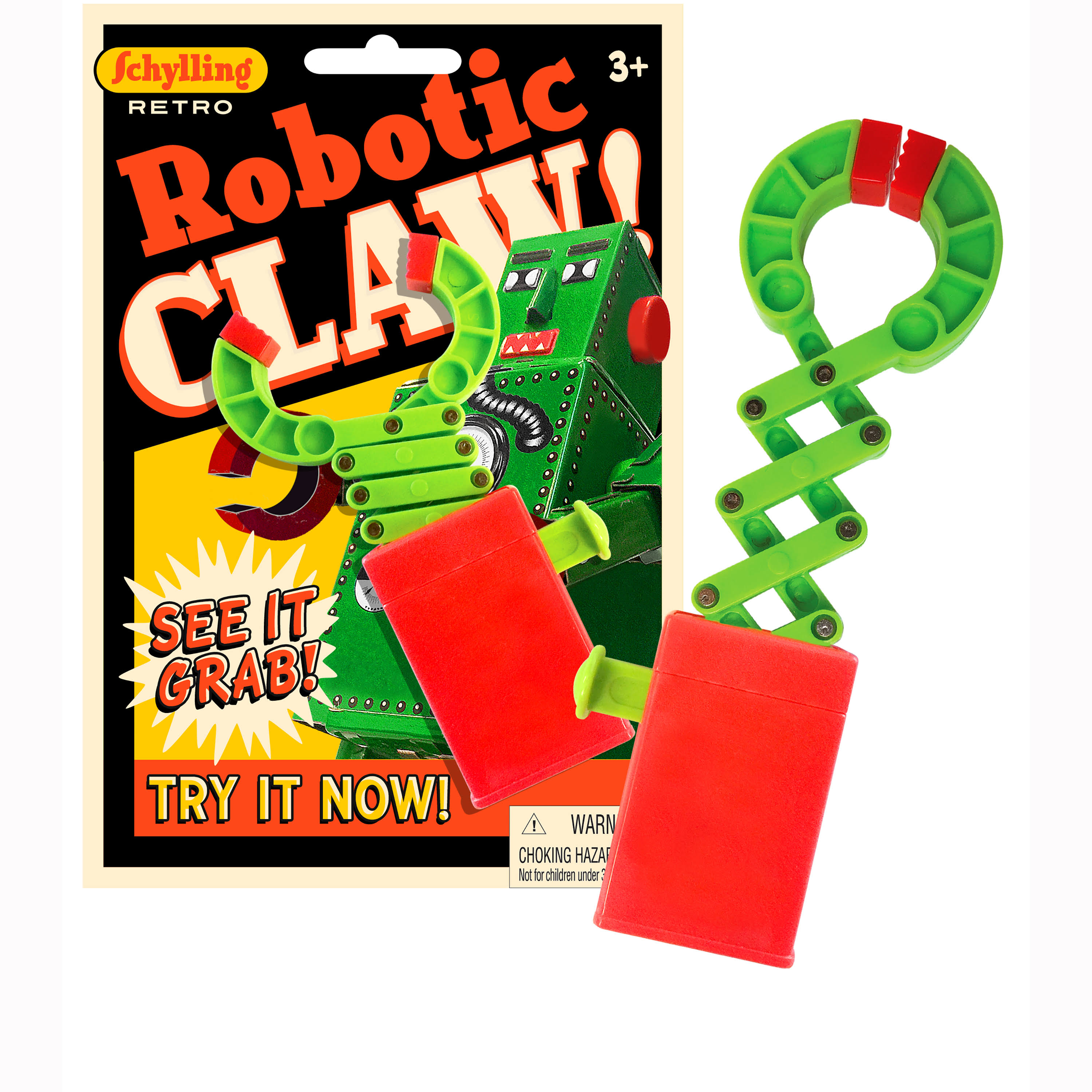 Schylling Robotic Claw Grabber