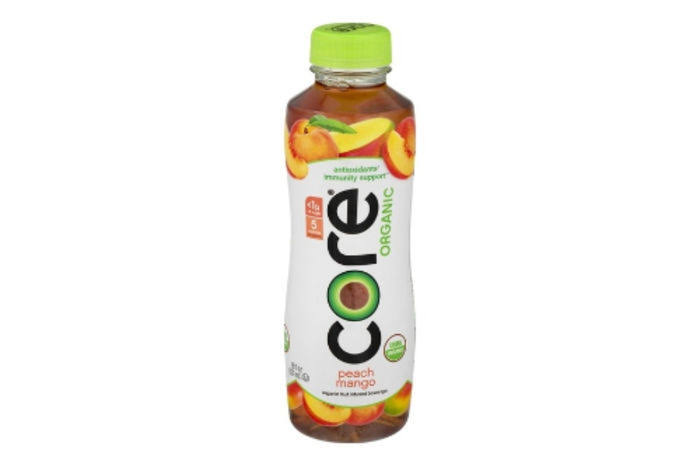 Core Organic Fruit Beverage, Nutrient Enhanced, Peach Mango - 18 fl oz