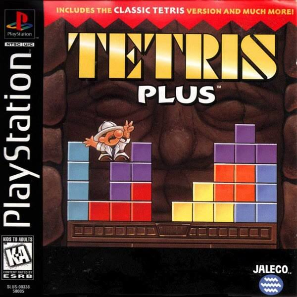 Tetris Plus - PlayStation 1