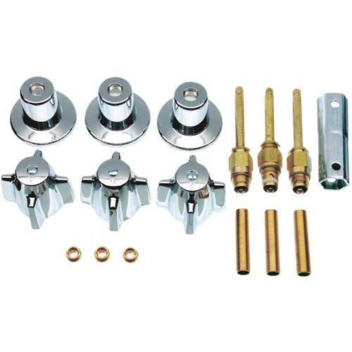Danco Central Brass 3 Handle Tub and Shower Complete Repair Kit