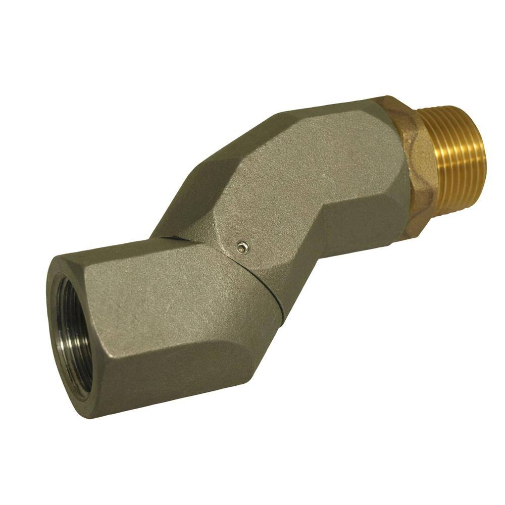 "Apache Fuel Transfer Hose Swivel - 3/4"" Pipe Thread"