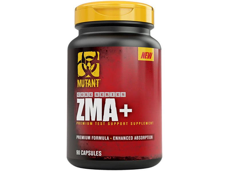 PVL Mutant ZMA+ Testosterone Support Capsules - x90