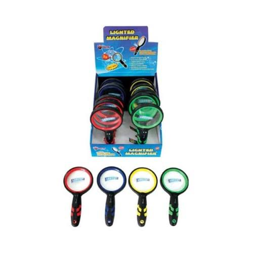 Diamond Visions 08-1219 LED Magnifying Glass - Pack of 12