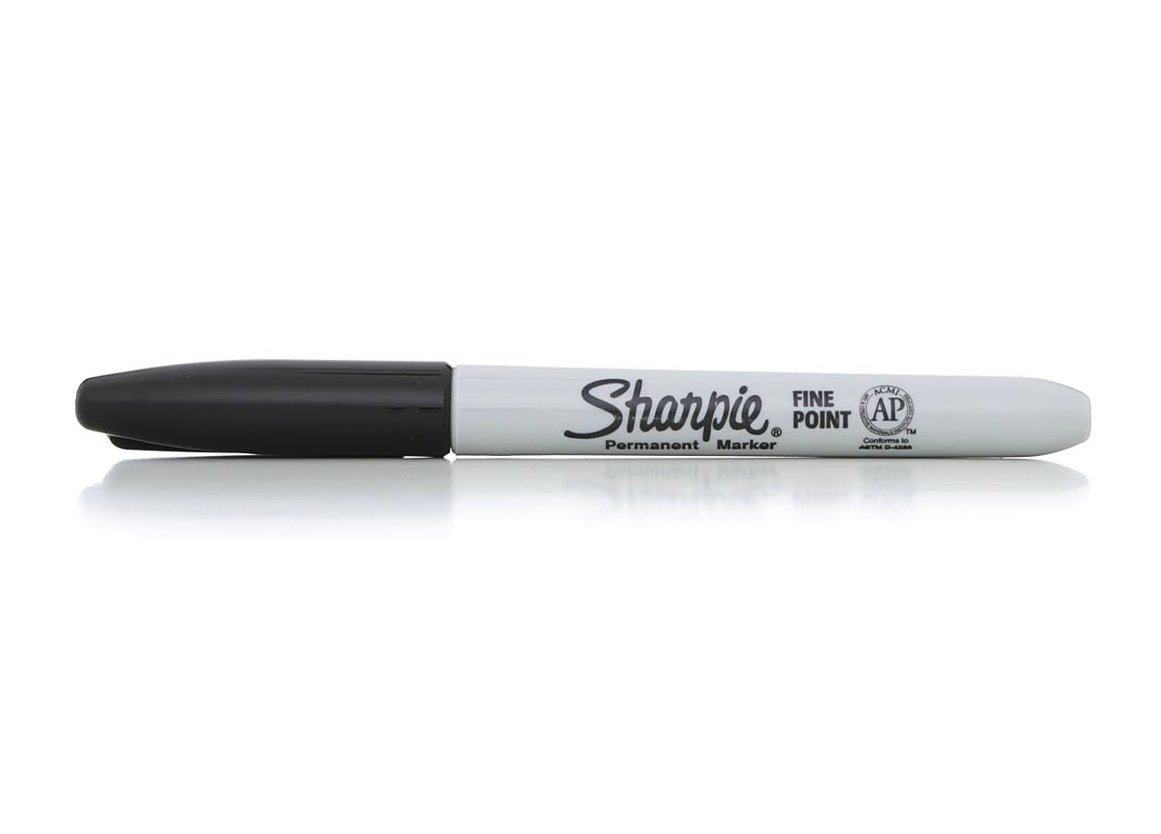 Sharpie Fine Point Permanent Marker - Black