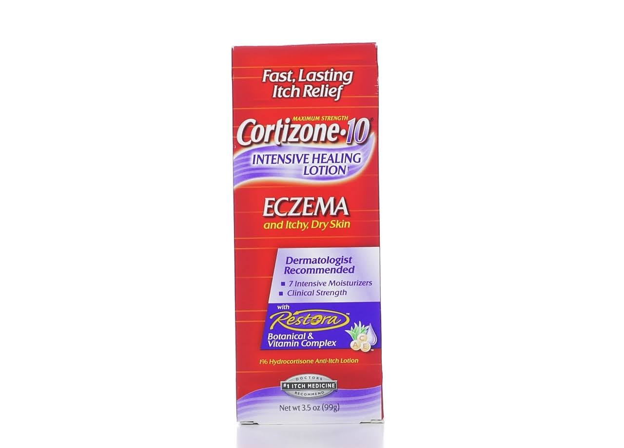 Cortizone-10 Maximum Strength Intensive Healing Lotion for Eczema - 3.5oz