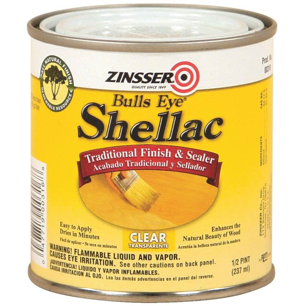 Zinsser Bulls Eye Shellac - Clear