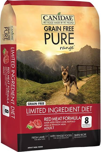 Canidae Pure Range Red Meat Formula Dry Dog Food