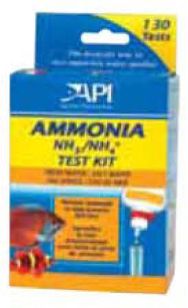 Api Ammonia Test Kit - 130 Test