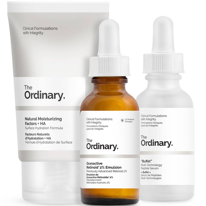 The Ordinary The No-Brainer Set - 3pk, 30ml