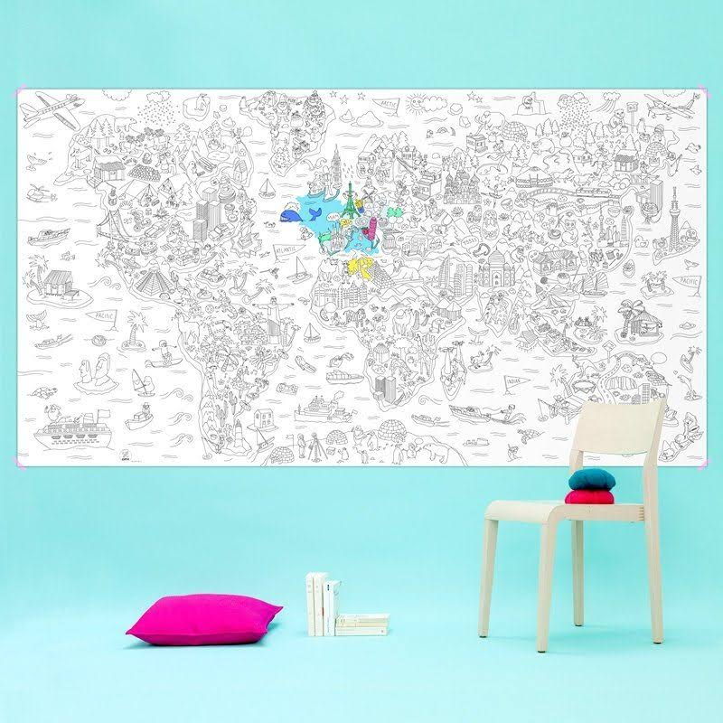 Giant Colouring Roll Atlas
