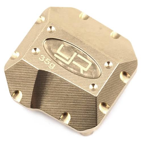 Yeah Racing Brass Diff Cover for Axial SCX10 II (1) AXSC-006