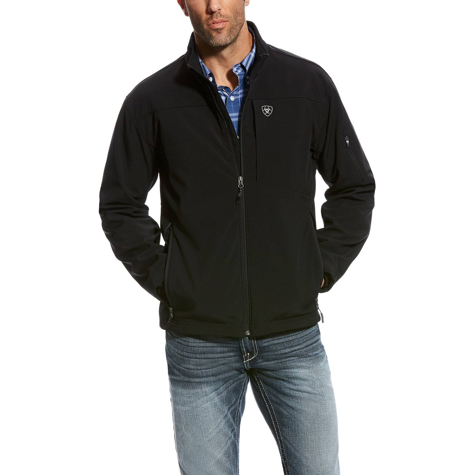 Ariat Men's Vernon 2.0 Black Softshell Jacket