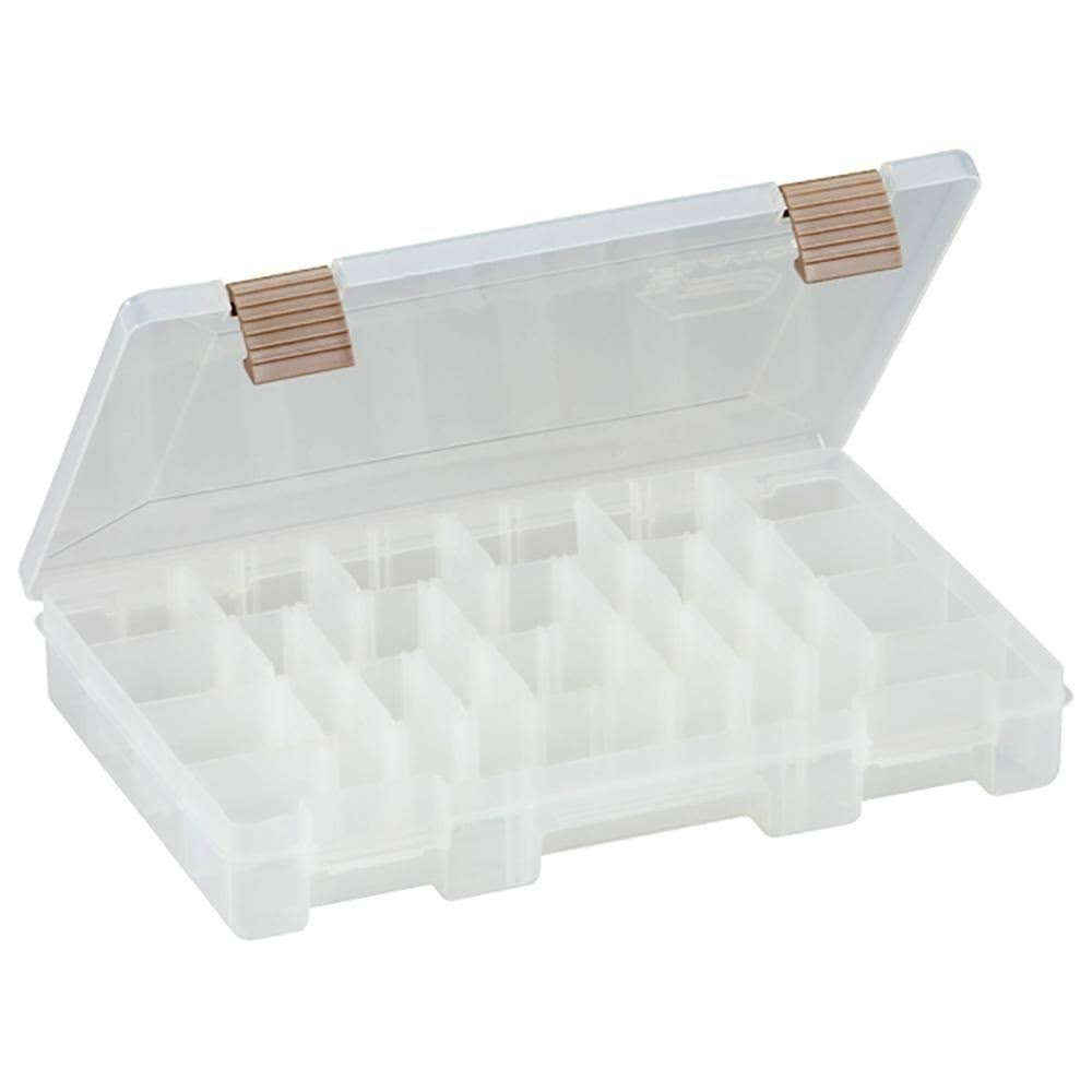 Plano 23620-01 Stowaway - Clear, with Adjustable Dividers