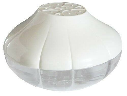 "Hutzler Pro-Line Garlic Saver - White, 4.3"" x 2.7"""