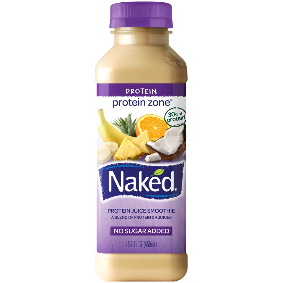 Naked Protein Zone Protein Juice Smoothie - 15.2oz