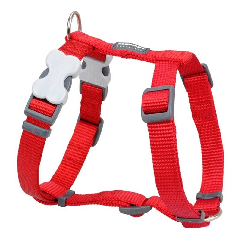Red Dingo Classic Dog Harness - Large, Red