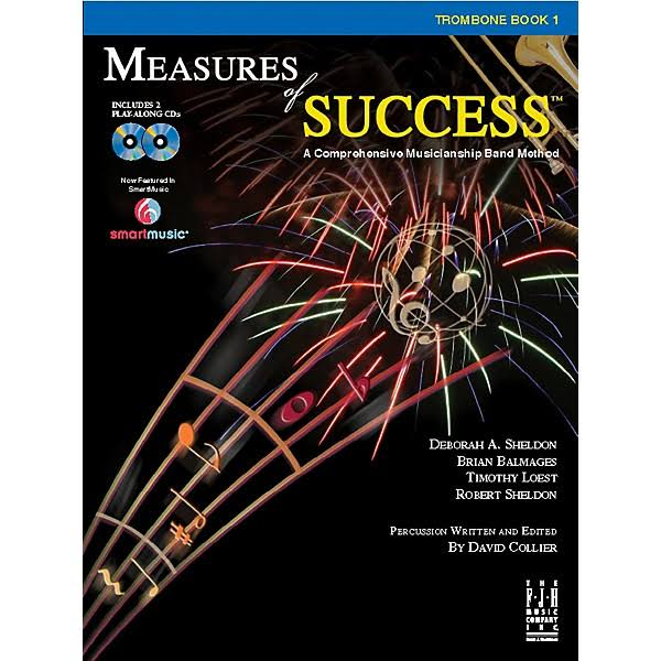 Measures of Success: Trombone Book 1 - Fjh Music