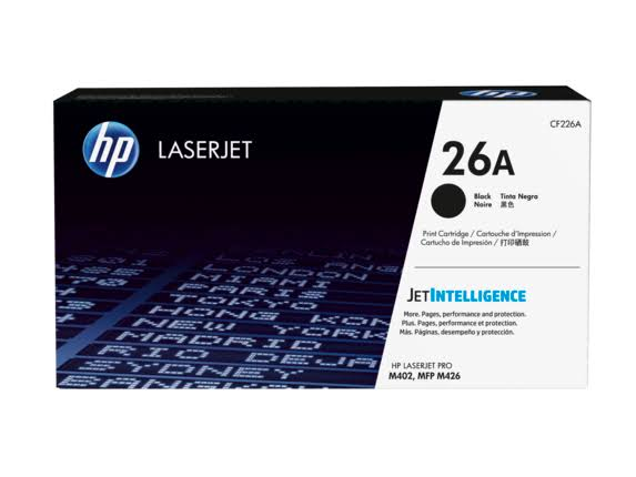 HP Laserjet 26A Toner Cartridge - Black