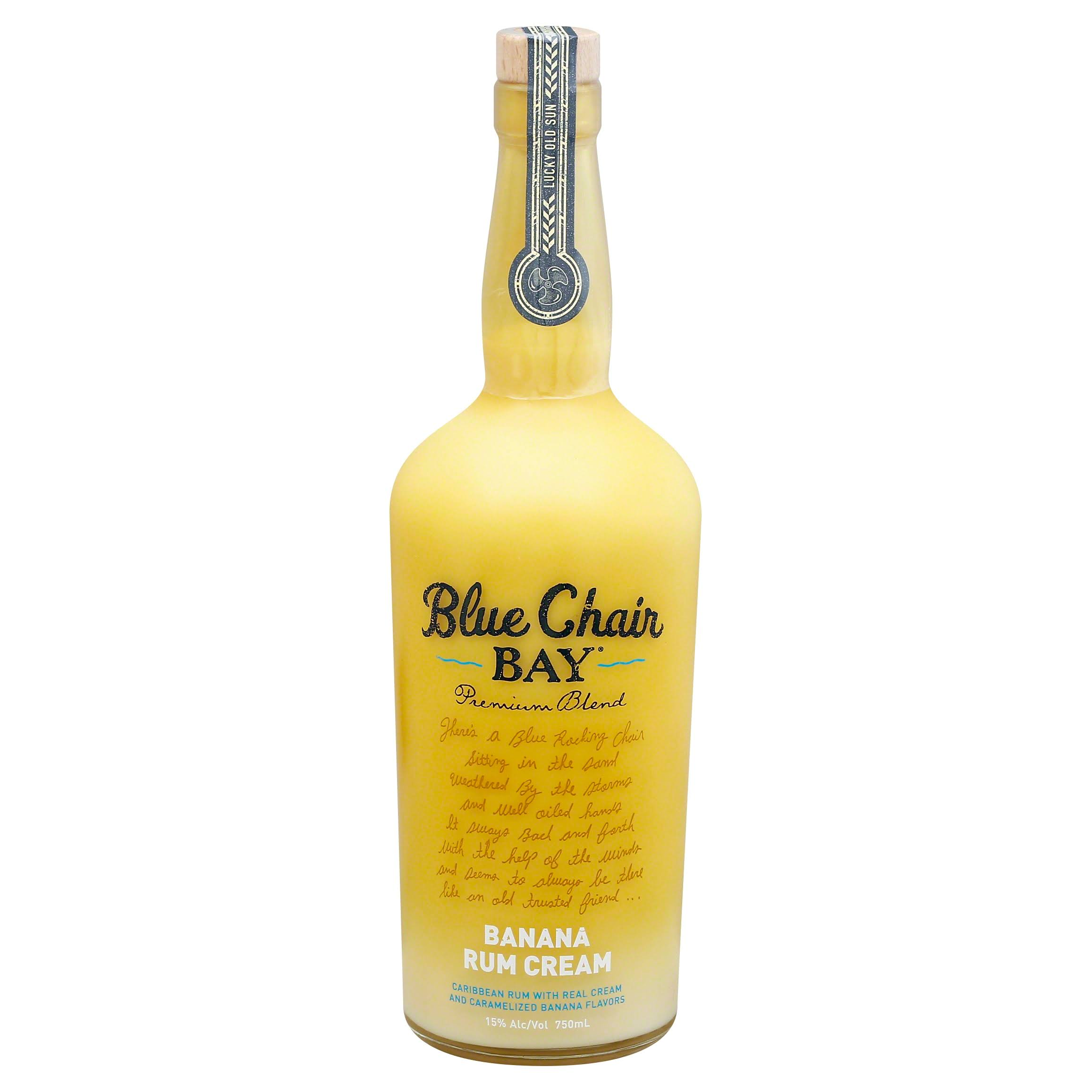 Blue Chair Bay Rum, Caribbean, Banana Cream - 750 ml