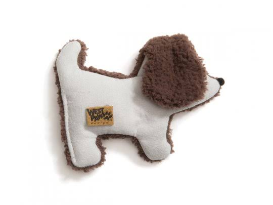 Westpaw Design Big Sky Puppy Squeaky Toy for Dogs - Smoke