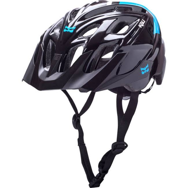 Kali Chakra Solo Helmet - Small-Medium, 54-58cm, Urban Black and Blue