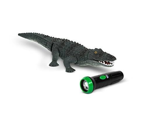 World Tech Toys Crocodile Infrared Remote Control - Critter Grey