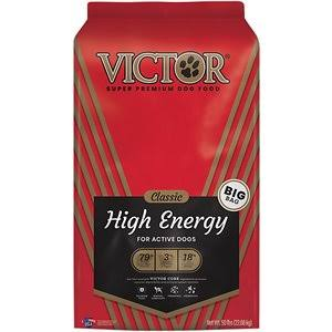 Victor High Energy Formula Dry Dog Food - 50lbs