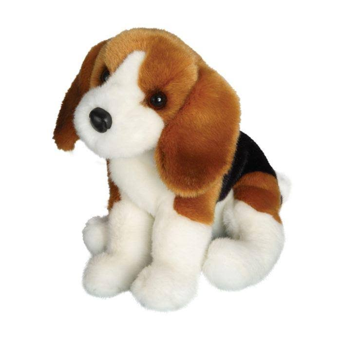 Douglas Cuddle Toys Balthezar Beagle Plush Soft Toy - 12""