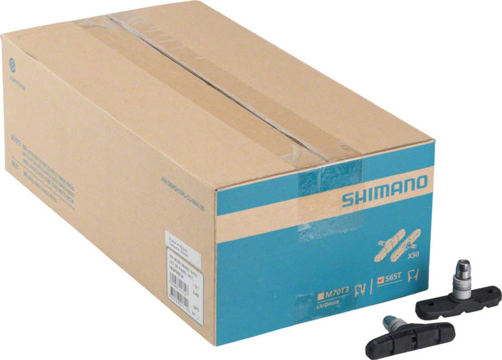 Shimano S65t V Brake Shoe Set - 50 Pairs