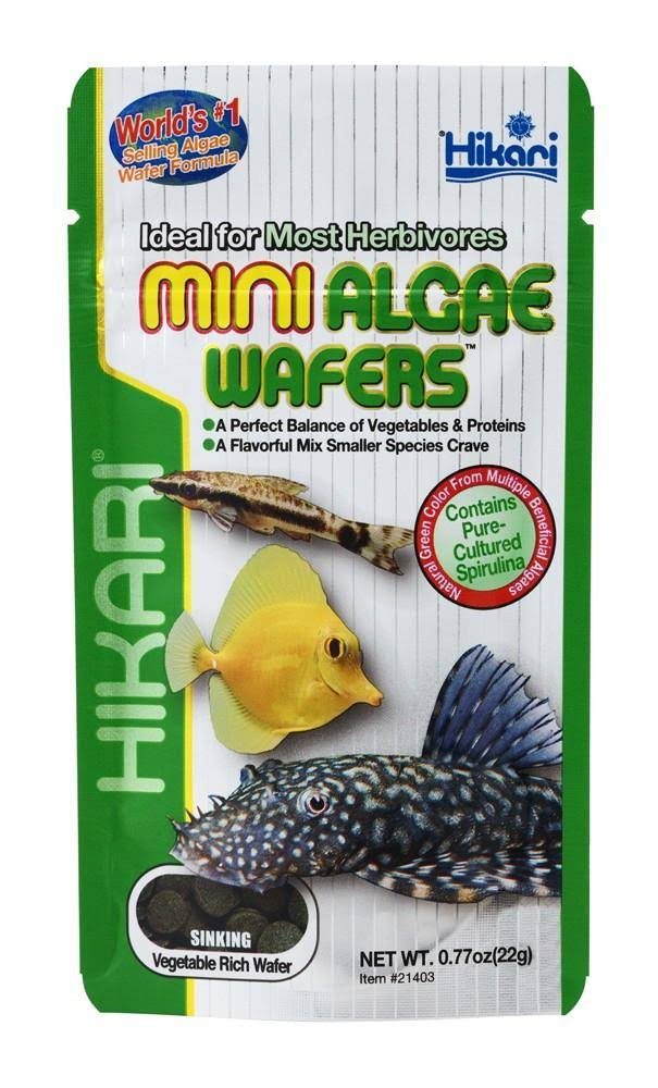 Hikari Mini Algae Wafers - 0.77 oz
