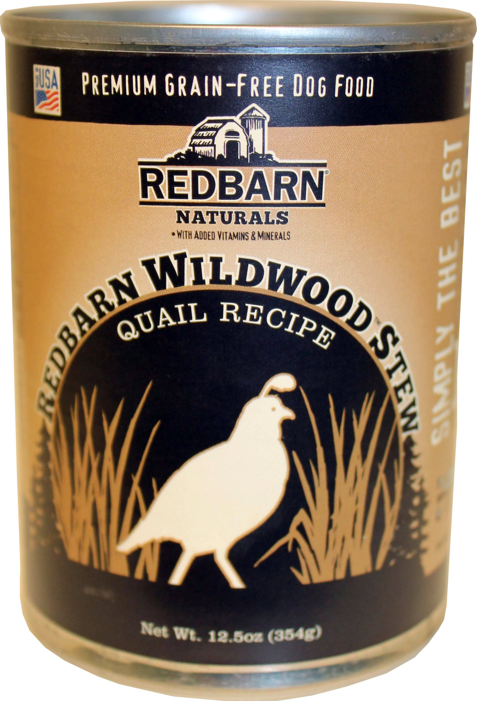 Redbarn Pet Products-food - Quail Stew Strong Teeth and Bones