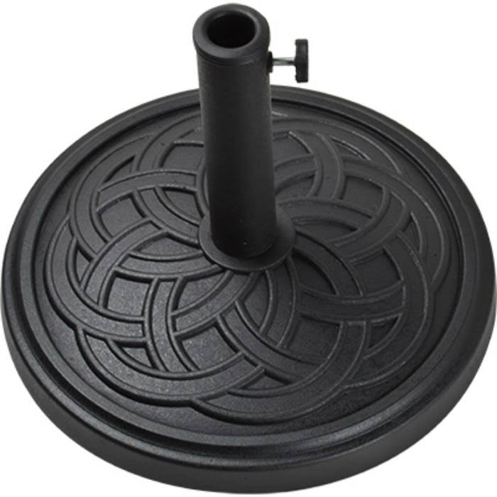 Bond MFG Company 69567 Four Seasons Courtyard Umbrella Base - Black