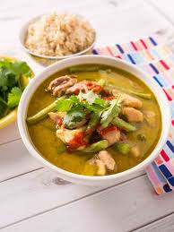 Thai Green Pumpkin Curry Recipe by Pressure Cooker Thai Green Chicken Curry Dadcooksdinner