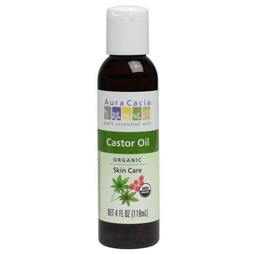 Aura Cacia Organic Skin Care Castor Oil - 473ml