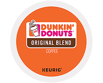 Dunkin Donuts Original Flavor Coffee K Cups - for Keurig K Cup Brewers, 24ct