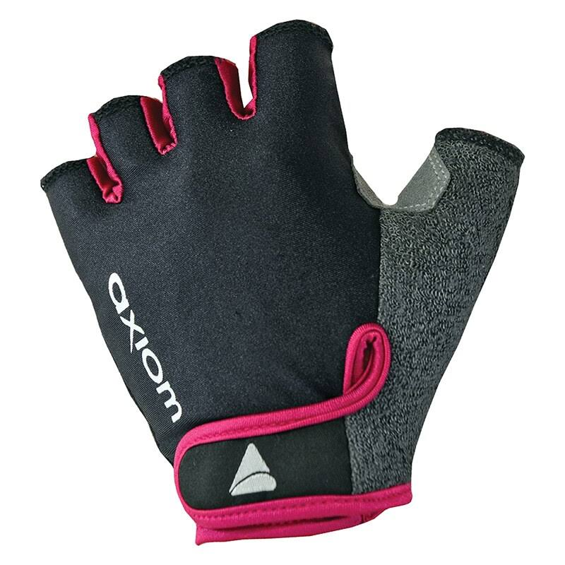 Axiom Women's Journey LX Gloves - Black and Raspberry, Small