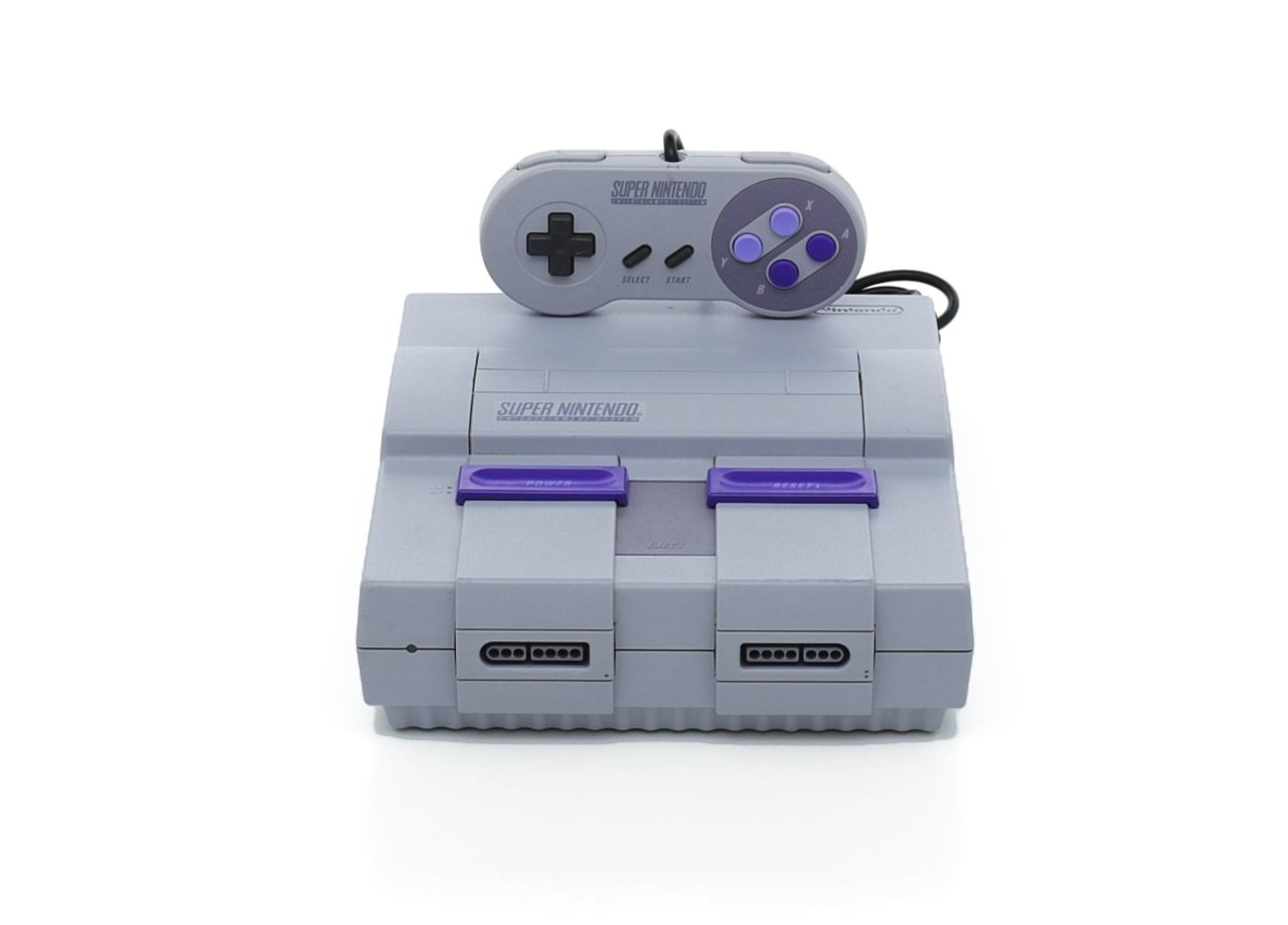 Super Nintendo Entertainment System (SNES) Game Console