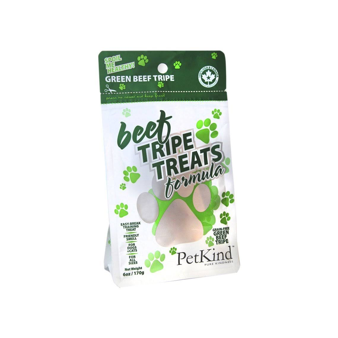 PetKind Green Beef Tripe Treats for Dogs - 6oz