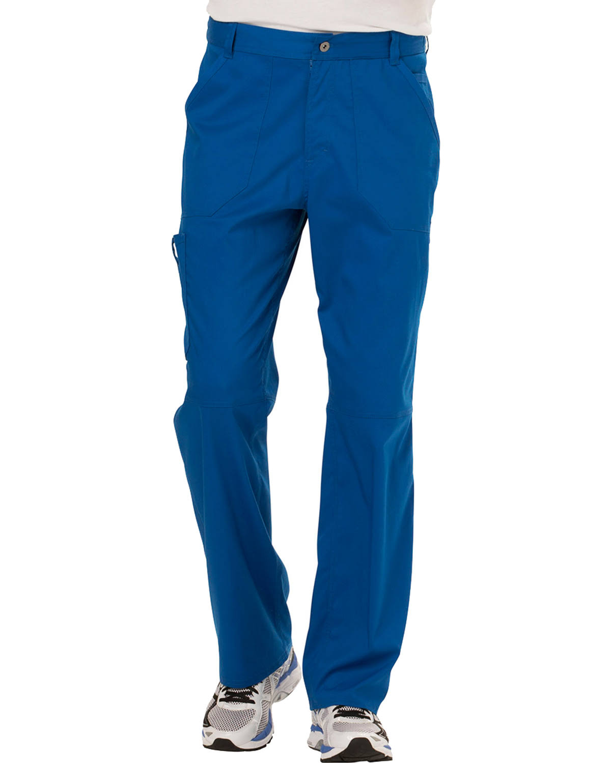 Cherokee Workwear Revolution Men's Fly Front Pant - Royal (M)