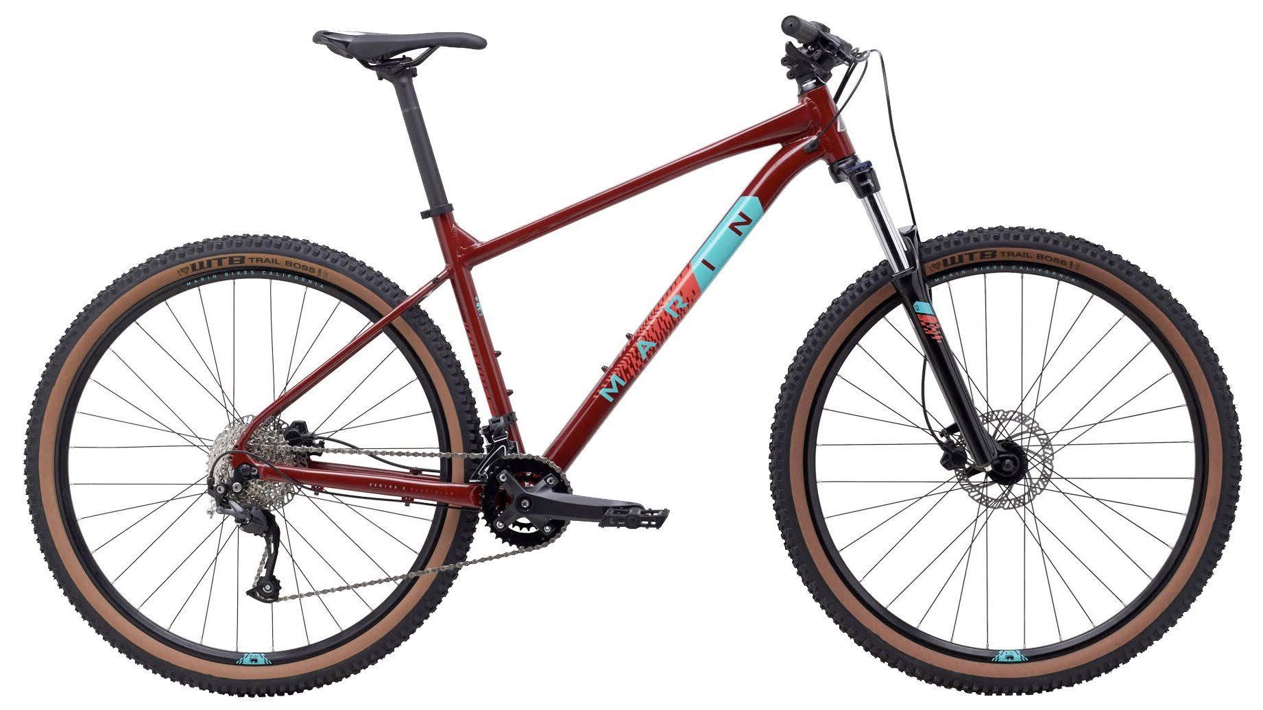 Marin Bobcat Trail 4 Mountain Bike 2020 Gloss Crimson / XL