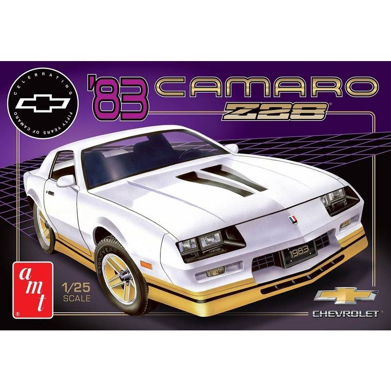 1983 Chevy Camaro Z-28 50th Anniversary Model Kit - 1/25 scale