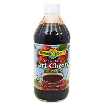 Dynamic Health Organic Tart Cherry Ultra 5x Juice Concentrate - 16oz