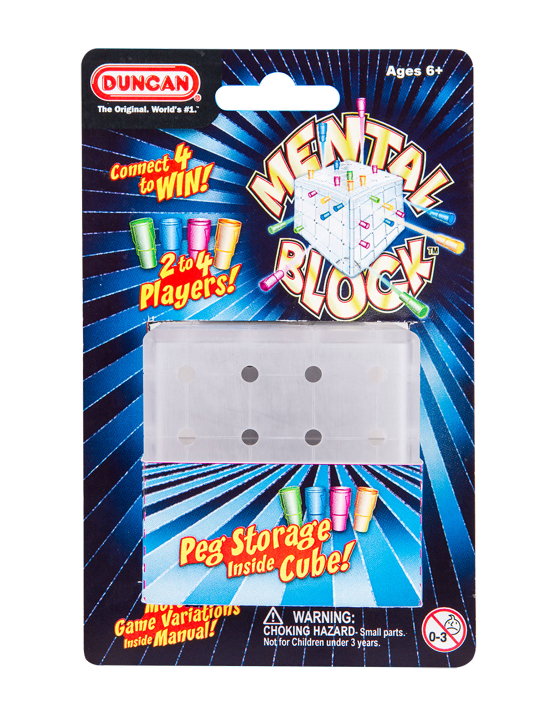 Duncan Mental Block Peg Toy Game