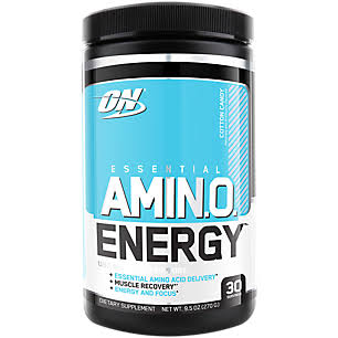 Optimum Nutrition Essential Amino Energy Dietary Supplement, Cotton Candy - 9.5 oz canister
