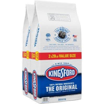 Kingsford Products 32107 Original Charcoal - 20lbs, 2pk