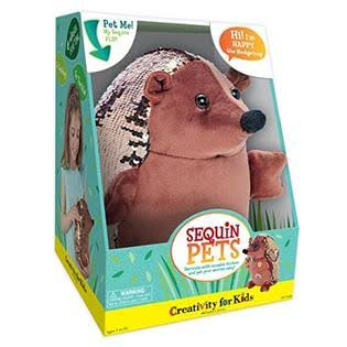 Creativity for Kids - Sequin Pets: Happy The Hedgehog